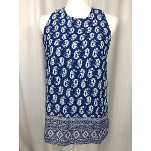 Willi Smith sleeveless blue top